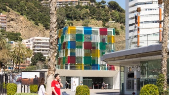Centre Pompidou Malaga museum and art gallery